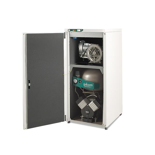 Dentálny kompresor s odsávačkami DUO 2