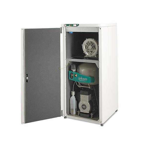 Dentálny kompresor s odsávačkou DUO